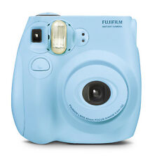 Fujifilm Instax Mini 7s Instant Camera (with 10-pack Film) - Light Blue