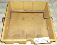"80's Williams Pinball Machine plastic Coin Box NO lid 10-1/4"" x 10"""