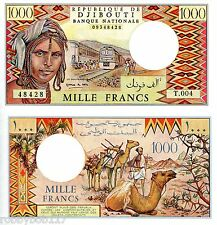 DJIBOUTI 1000 Francs Banknote World Money UNC Currency Bill Africa p37e Note