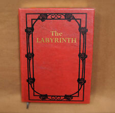 The Labyrinth Sarah's Book - Leatherbound Prop Replica Hardcover Novelization