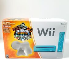 Nintendo Wii Skylanders Giants Bundle 512MB Blue Console Missing Tree Rex - NEW