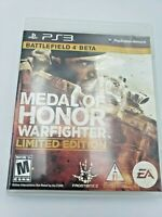 Medal of Honor: Warfighter Project Honor Edition (Sony PlayStation 3) Complete