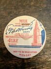 Fred Harvey Dairy Union Station Terminal Tower Cleveland Ohio OH Milk Bottle cap