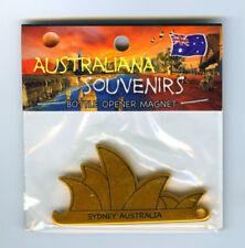Sydney Opera House, Magnet, Bottle Opener, Gold, from Australia