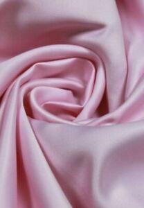 HEAVY, BABY PINK, DUCHESS SATIN, BRIDAL, WEDDING DRESS, 200gsm fabric/PER METRE/
