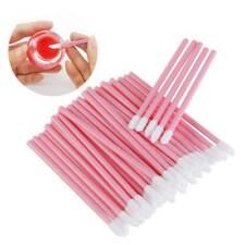 100pcs Disposable Lip Gloss Applicators Lipstick Wands Tool Kits Make up Brushes