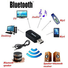 Bluetooth Music Receiver A2DP Wireless 3.5mm Aux Stereo Audio Dongle Adapter RF