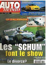 A24- Auto Hebdo N°1301 GP d'Allemagne Les Schumacher font le show