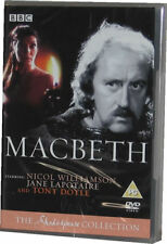 Macbeth The BBC Shakespeare Collection DVD - New Sealed