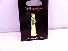 Disney * PRINCESS MULAN - SPARKLE GLITTER TOP * New on Card Trading Pin