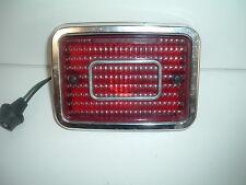 1970 Chevy Tail Light Housing, Lens, Chrome Trim Ring, & Plug