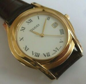 Pre-Owned Gucci 5400M Watch - Good Condition and Working Order