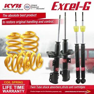 F+R KYB EXCEL-G Shock Absorbers Lowered King Springs for SUZUKI Swift RS415 M15A