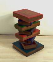 50cm Bücher Holz Hocker Couchtisch Beistelltisch Sitzhocker REDUZIERT v 119 Euro