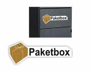 Paketbox Aufkleber  Paket Box Kennzeichnung Abziehbild  Rw34/17/2