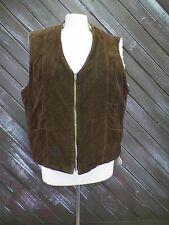 Vest Coat Corduroy Heavy Faux Fur Men's See Notes for Size