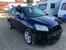 2013 CHEVROLET TRAX LT SALVAGE DAMAGED REPAIR CAT MOKKA