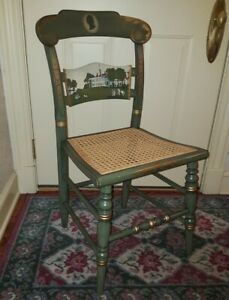 """Hitchcock Limited Edition Presidential Series """"Washington's Mount Vernon"""" Chair"""