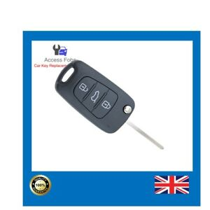 Key Remote Fob compatible with Hyundai i20 IX35 3 button 954301J0 (HY02)