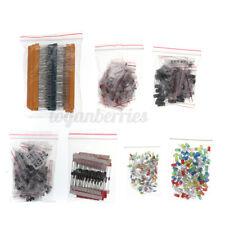 1490Pcs/Set Electronic Components Capacitors Resistors Led Diodes Transisto