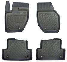 Premium Fußmatte Fussraumschalen für Volvo V40 II Schrägheck Cross Country 2012-