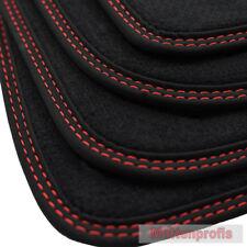Fußmatten Doppelnaht rot für Porsche 911 991 ab Bj. 12/2011 von Mattenprofis