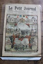 Petit journal dibujada Nº764 1905 Exposition universal Corcho Georg Stage 2