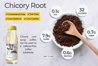 Chicory Root Coffee Syrup - Pure Free of Sugar Sweetener - Sugar Substitute