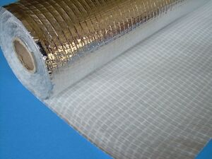 300m² ALU Dampfbremsfolie 110g verstärkt CE Dampfbremse Dampfsperre Profi-Quali
