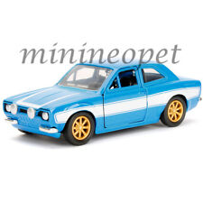 JADA 97188 FAST & FURIOUS BRIAN'S 1974 FORD ESCORT RS2000 MK1 1/32 DIECAST BLUE