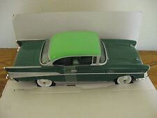 1957 57 Chevy Bel Air Hard Top green promo model car Revell original box 1:25th