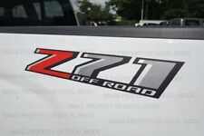 set of 2: 2018 Z71 Off Road Decals F18 stickers Parts Chevy Silverado GMC Sierra