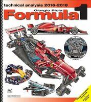 Formula 1 Technical Analysis 2016/2018 by Giorgio Piola 9788879116848