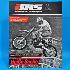 DDR Illustrierter Motorsport IMS 1/1989 Ohrdruf Moto-Cross VW Corrado Sierra C
