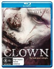 Clown (Blu-ray, 2015) (An Eli Roth Production) Region B Free Post