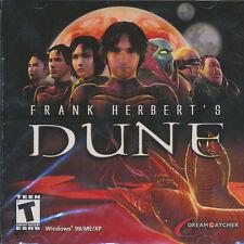 Frank Herbert's DUNE Classic 3D Adventure Dreamcatcher PC Game NEW SEALED!