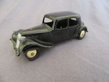 828F Vintage Dinky 24N Citroën 11BL Traction Negro 1:43