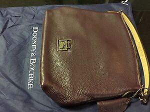 Dooney & Bourke Pebble Calf Leather HOBO