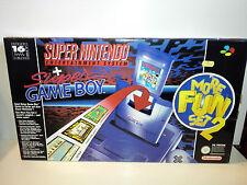 Super Nintendo Entertainment System Super Set Entertainment System Grau Spielekonsole (PAL)