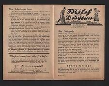BERLIN, Prospekt 1932, Alfa-Laval-Separator