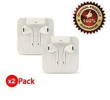 Apple Lightning Earpods Headphones Original OEM Earbuds iPhone 7 Plus 8+ X (2x)