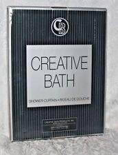 Shower Curtain New in Box Rideau De Douch Creative Bath Belvedere
