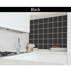 """Tile Stickers Transfers Kitchen Bathroom Self Adhesive Decals 6"""" 150mm x 150mm"""