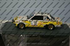 Neo Opel Ascona B Rally Sanremo 1979 in 1:43 scale White Neo45241 Resin