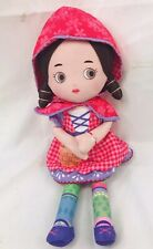 Mooshka Plush Doll Little Red Riding Hood Story Time Katia Zapf Cloth Lovey Baby