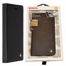 BNIB Krusell Malmo Folio Case Black for Apple Iphone 7 Plus Only