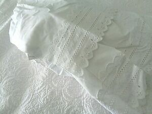 Twin size bed Ruffle White