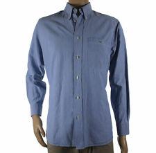 Lacoste Taglia 42 100% Cotone Classica Camicia Maniche Lunghe Uomo