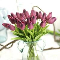 10pc Unechte Blumen Künstliche Deko Blumen Gefälschte Blumenstrauß Blumensc V9S9