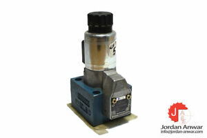 REXROTH M-3 SEW 10 U14/420 MG24 N9K4 SOLENOID ACTUATED SEATED DIRECTIONAL VALVE